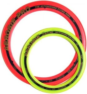 "Aerobie Pro Ring (13"") and Aerobie Sprint Ring (10"") set - Assorted Colors"