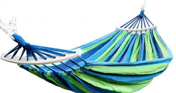 Rusee Double 2 Person Cotton Fabric Canvas Travel Hammocks