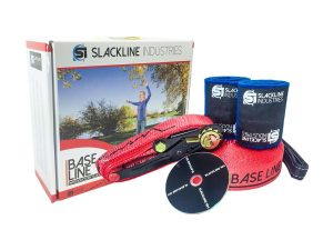 Slackline Industries Baseline Slackline Complete Kit With Tree Protection