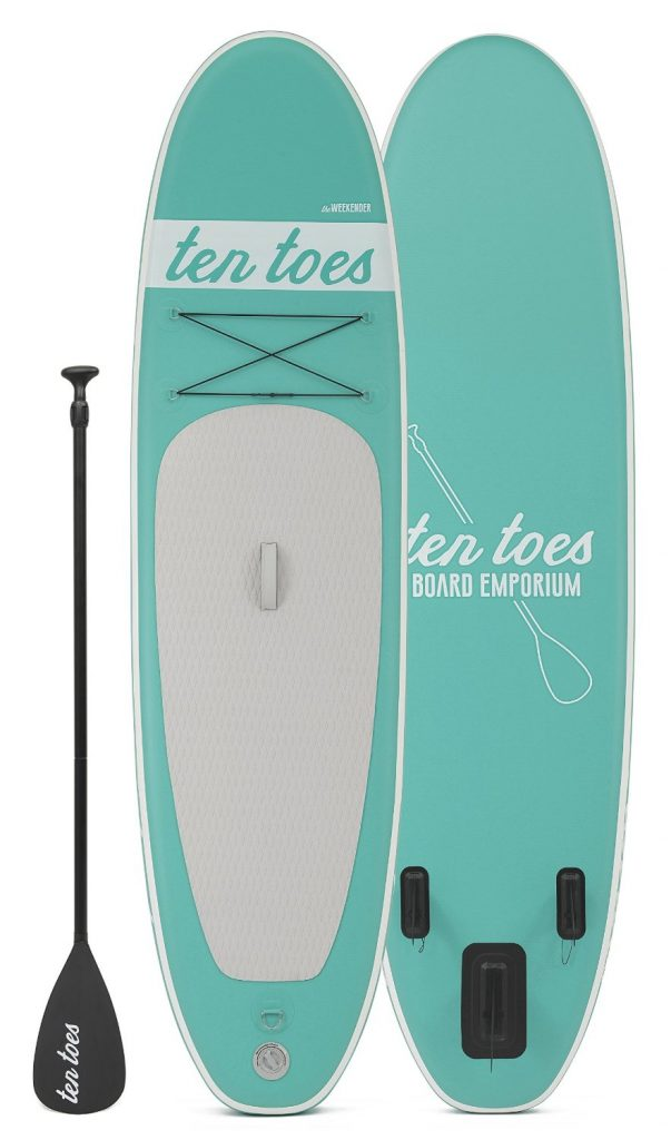 Ten Toes WEEKENDER 10-Feet Inflatable Standup Paddleboard SUP