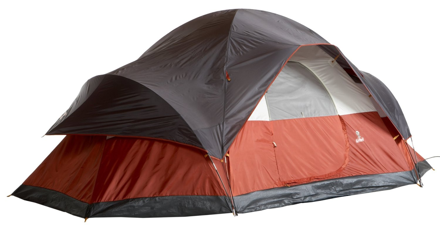 Coleman Red Canyon Tent For the Entire Family  sc 1 st  Outdoor Cafe Mag : coleman max tent 8 person - memphite.com